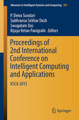 Das, Swagatam - Proceedings of 2nd International Conference on Intelligent Computing and Applications, e-kirja