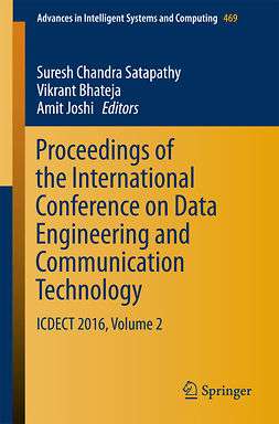 Bhateja, Vikrant - Proceedings of the International Conference on Data Engineering and Communication Technology, e-bok