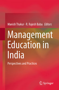 Babu, R. Rajesh - Management Education in India, ebook