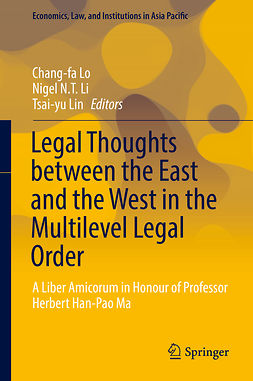 Li, Nigel N.T. - Legal Thoughts between the East and the West in the Multilevel Legal Order, ebook