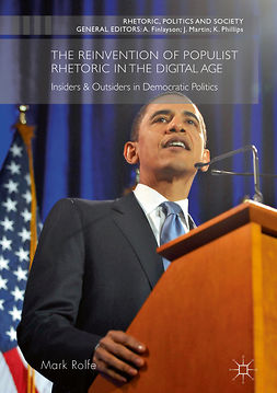 Rolfe, Mark - The Reinvention of Populist Rhetoric in The Digital Age, e-kirja