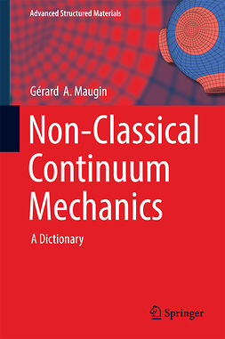 Maugin, Gérard  A. - Non-Classical Continuum Mechanics, ebook