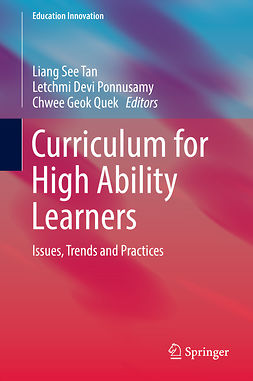 Ponnusamy, Letchmi Devi - Curriculum for High Ability Learners, ebook