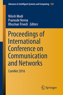 Modi, Nilesh - Proceedings of International Conference on Communication and Networks, e-bok