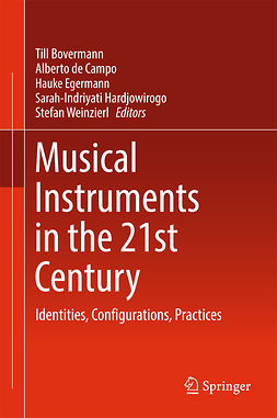 Bovermann, Till - Musical Instruments in the 21st Century, ebook