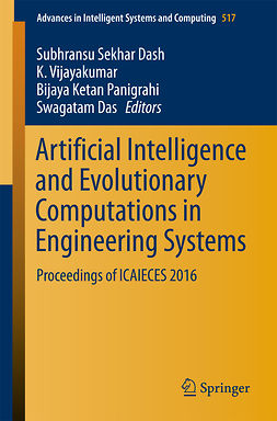 Das, Swagatam - Artificial Intelligence and Evolutionary Computations in Engineering Systems, e-kirja