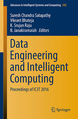 Bhateja, Vikrant - Data Engineering and Intelligent Computing, e-kirja