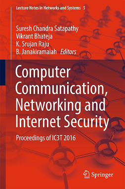 Bhateja, Vikrant - Computer Communication, Networking and Internet Security, e-bok