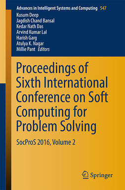 Bansal, Jagdish Chand - Proceedings of Sixth International Conference on Soft Computing for Problem Solving, ebook