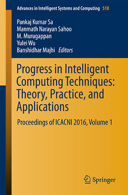 Majhi, Banshidhar - Progress in Intelligent Computing Techniques: Theory, Practice, and Applications, ebook