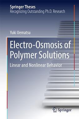 Uematsu, Yuki - Electro-Osmosis of Polymer Solutions, e-bok