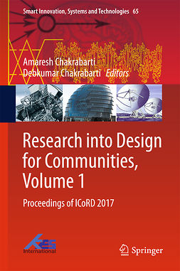 Chakrabarti, Amaresh - Research into Design for Communities, Volume 1, e-bok