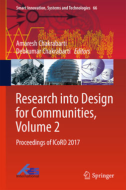 Chakrabarti, Amaresh - Research into Design for Communities, Volume 2, e-kirja