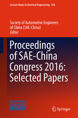 - Proceedings of SAE-China Congress 2016: Selected Papers, ebook