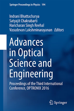 Bhattacharya, Indrani - Advances in Optical Science and Engineering, e-bok