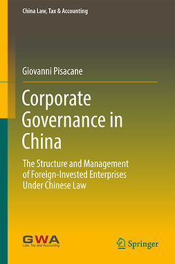 Pisacane, Giovanni - Corporate Governance in China, ebook
