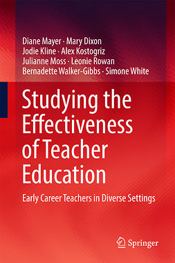 Dixon, Mary - Studying the Effectiveness of Teacher Education, ebook