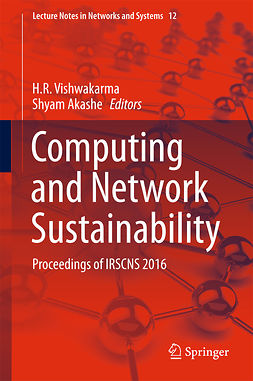 Akashe, Shyam - Computing and Network Sustainability, ebook