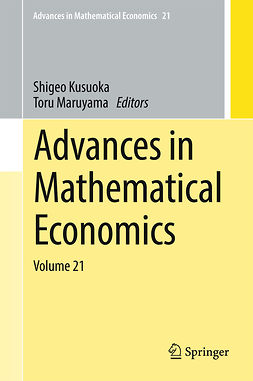 Kusuoka, Shigeo - Advances in Mathematical Economics, ebook