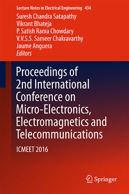 Anguera, Jaume - Proceedings of 2nd International Conference on Micro-Electronics, Electromagnetics and Telecommunications, e-bok