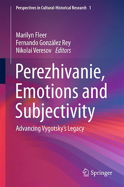 Fleer, Marilyn - Perezhivanie, Emotions and Subjectivity, e-bok