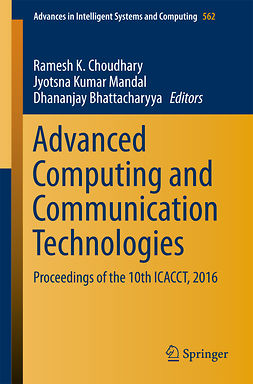 Bhattacharyya, Dhananjay - Advanced Computing and Communication Technologies, ebook