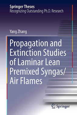 Zhang, Yang - Propagation and Extinction Studies of Laminar Lean Premixed Syngas/Air Flames, ebook