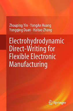 Duan, Yongqing - Electrohydrodynamic Direct-Writing for Flexible Electronic Manufacturing, e-kirja