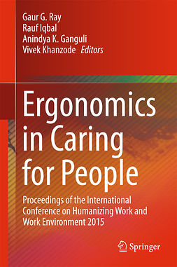 Ganguli, Anindya K. - Ergonomics in Caring for People, ebook