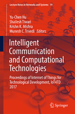 Hu, Yu-Chen - Intelligent Communication and Computational Technologies, ebook