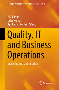 Kapur, P.K. - Quality, IT and Business Operations, e-bok