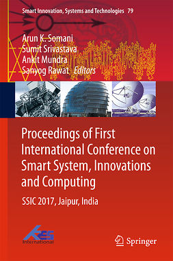 Mundra, Ankit - Proceedings of First International Conference on Smart System, Innovations and Computing, ebook