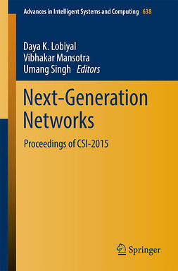 Lobiyal, Daya K. - Next-Generation Networks, e-bok