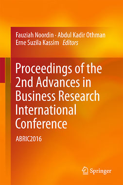 Kassim, Erne Suzila - Proceedings of the 2nd Advances in Business Research International Conference, ebook