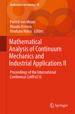 Kimura, Masato - Mathematical Analysis of Continuum Mechanics and Industrial Applications II, ebook