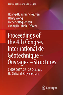 Ha-Minh, Cuong - Proceedings of the 4th Congrès International de Géotechnique - Ouvrages -Structures, e-kirja