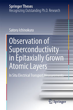 Ichinokura, Satoru - Observation of Superconductivity in Epitaxially Grown Atomic Layers, ebook