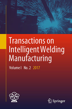 Chen, Shanben - Transactions on Intelligent Welding Manufacturing, ebook