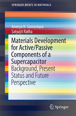 Ratha, Satyajit - Materials Development for Active/Passive Components of a Supercapacitor, ebook