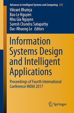 Bhateja, Vikrant - Information Systems Design and Intelligent Applications, e-kirja