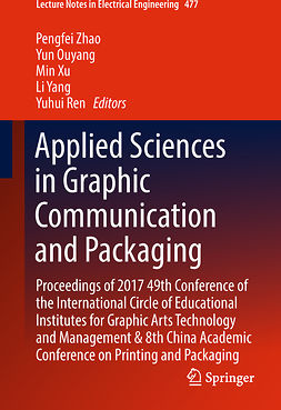 Ouyang, Yun - Applied Sciences in Graphic Communication and Packaging, e-bok