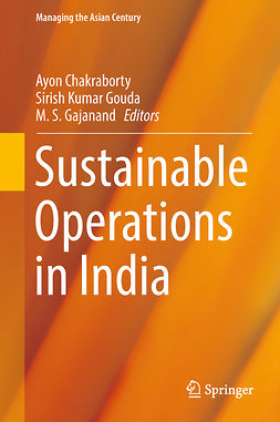 Chakraborty, Ayon - Sustainable Operations in India, ebook