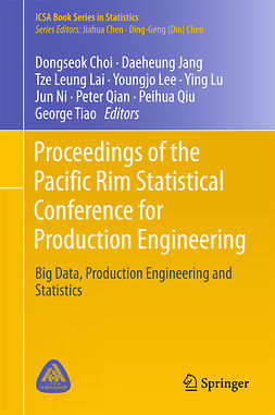 Choi, Dongseok - Proceedings of the Pacific Rim Statistical Conference for Production Engineering, ebook