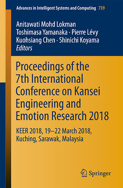 Chen, Kuohsiang - Proceedings of the 7th International Conference on Kansei Engineering and Emotion Research 2018, e-kirja