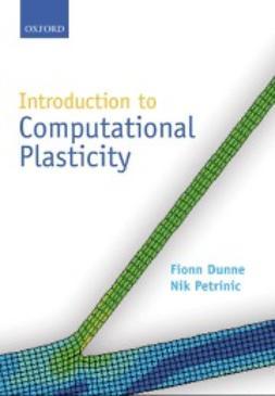 Dunne, Fionn - Introduction to Computational Plasticity, ebook