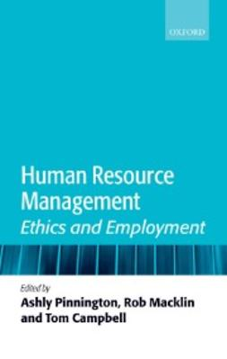 Campbell, Tom - Human Resource Management: Ethics and Employment, e-bok