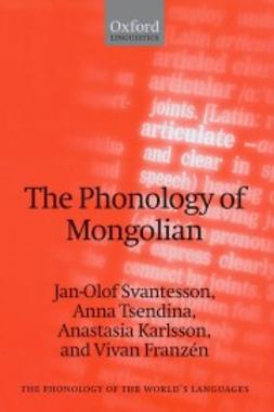 Franzen, Vivan - The Phonology of Mongolian, ebook