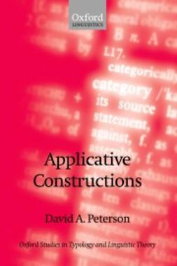 Peterson, David A. - Applicative Constructions, ebook