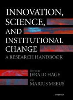 Hage, Jerald - Innovation, Science, and Institutional Change: A Research Handbook, ebook
