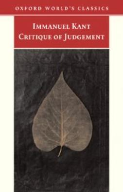 Creed Meredith, James - Critique of Judgement, ebook